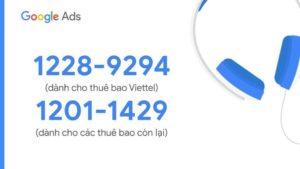 Liên hệ tổng đài google ads